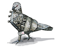 London Pigeon (D&AD + UNIQLO winning entry)