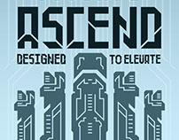 Ascend - Type Specimen Poster