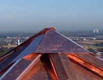 restauratie koperen dak van Sint Servaes basiliek