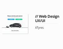 Website Design for XTyres