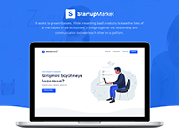 StartupMarket.co UI/UX Design