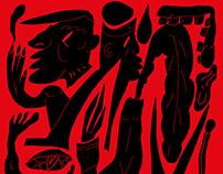 """Illustration for Bulgakov's """"DIAVOLIADA"""""""