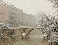 SNOW IN SARAJEVO (Photo series)