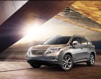 Lexus 2010 RX Launch Site