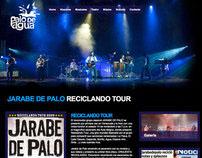 Palo de Agua Producciones Website