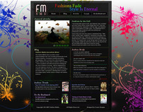 Fashion Media SMU Web Design