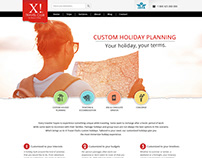 X! Travel Club | Website Design