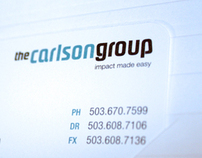 The Carlson Group logo and ID