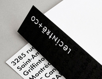 LE CINTRÉ & CO, IDENTITY STATIONERY