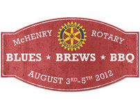 Blues Brews & BBQ for the McHenry Rotary Club