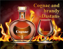 "Cognac and brandy ""Dastan"""