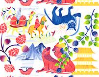 pattern design exhibition China