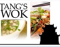 Tang's Wok Prototype Website