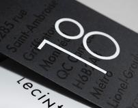 LE CINTRÉ & CO, UTILITY CARDS