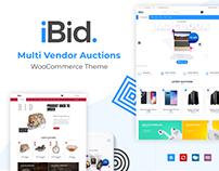 iBid - Multi Vendor Auctions WordPress Theme
