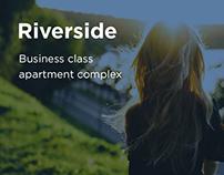 """Riverside"" Apartment complex. Design concept"