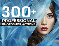 300+ Best Free Professional Photoshop Actions