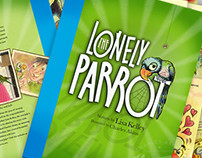 "Children's Book Illustrations for ""The Lonely Parrot"""