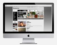 Streetammo Skate Team 2012 - Web Design