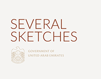 UAE GOV. Several sketches