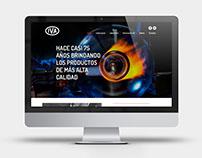 Rediseño de sitio web - IVASA