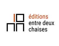 Logo éditions entre deux chaises