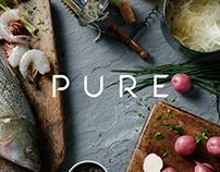 Pure - Restaurant Brand Identity