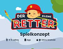 """""""Der kleine Ritter"""" Spiel Konzept"""