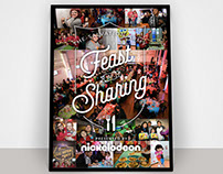 Nickelodeon Poster for Feast of Sharing Event