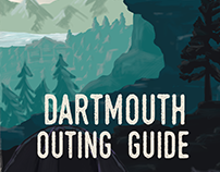 Dartmouth Outing Guide cover design
