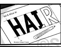 Mini adventures of Kal & Alice comic strip