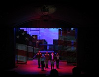 """Dogfight"" Projection Design"