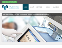 The Cairo Kidney Center website