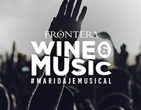 Frontera Wine & Music #MaridajeMusical
