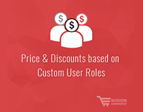 Price & Discounts Based on Custom User Roles