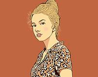 Hannah Murray - God Help the Girl key art
