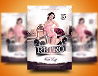 The Retro One Flyer