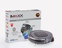 Hybrid Robot Vacuum Packaging Design / Imaxx