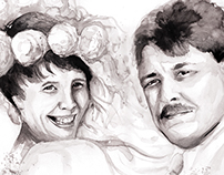 Bespoke Portrait illustrations