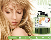 L'Oreal / Matrix — Biolage Advertising