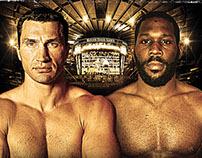 Klitschko vs. Jennings Boxing Event Creative
