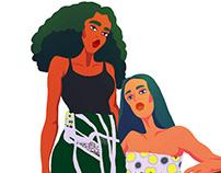 Illustration for a Textile Designer