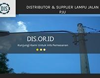 DIstributor & Supplier Lampu Jalan PJU