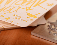 Letterpress & Gold Foil