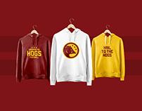 Washington Hogs Branding Concept