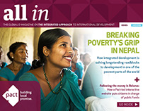 'All In,' Pact's interactive e-magazine