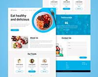 Dely Boom - Web Design