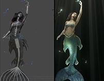 Magic Mirror - Mermaid AR