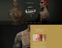 Creative Tattoo WordPress Theme