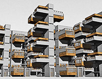 1503 Multilevel apartments